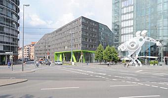 X-House am Hauptbahnhof