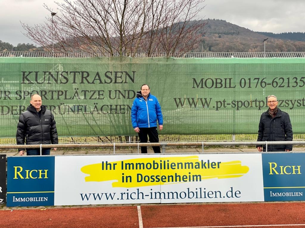 FC Dossenheim RICH Immobilien Werbepartner